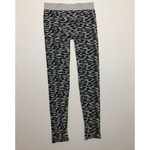Ribbed Seamless Cheetah Legging